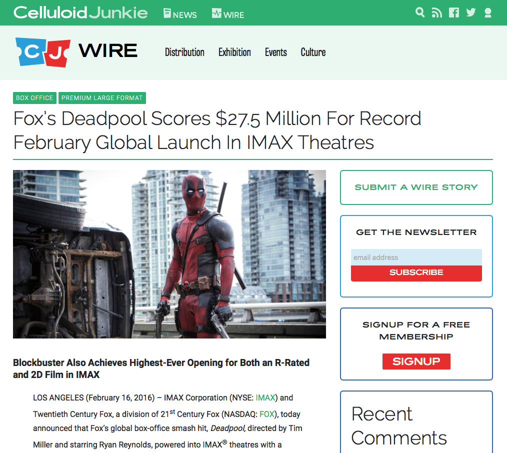 Fox_s_Deadpool_Scores__27_5_Million_For_Record_February_Global_Launch_In_IMAX_Theatres_-_Celluloid_Junkie